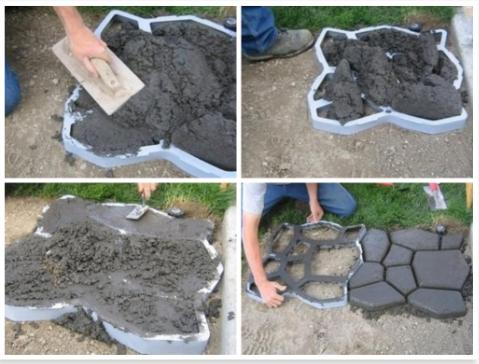 diy concrete patio ideas how to make cement patio my so called