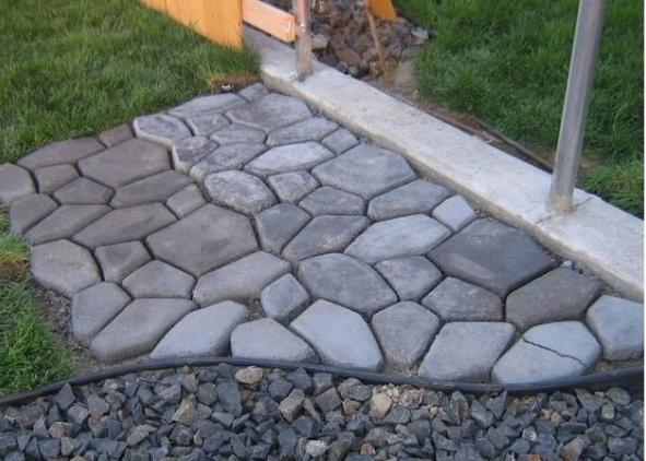 ... Diy_handmade_concrete_patio DIY Cement Patio ...