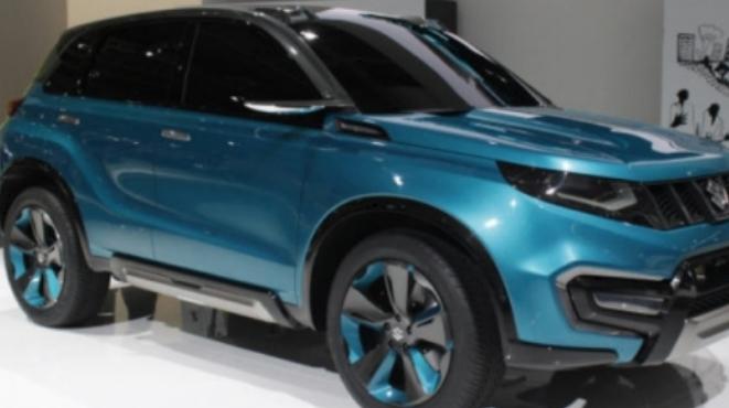 year 2015 suzuki car model by frint side