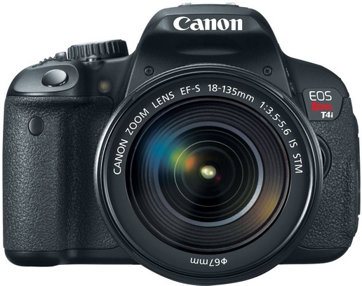 Canon EOS Rebel 4i camera