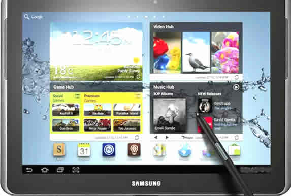 galaxy note 10.1 Inches 16GB slate tablets