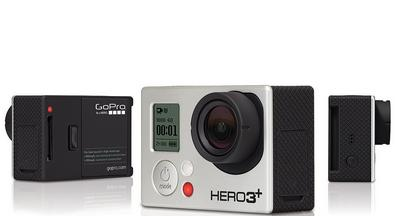 The GoPro HERO3+ video camera