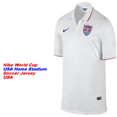 Nike 2014 World Cup USA Home Stadium Soccer Jersey
