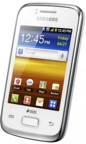 Samsung Dual SIM Smartphone with Bluetooth