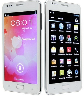 Unlocked Smartphone N8000 5 Inch Screen Android 4.0