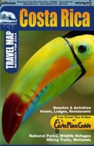 Waterproof Travel Map Toucan