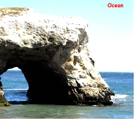 Nature made arches