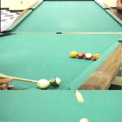 Billiard table game