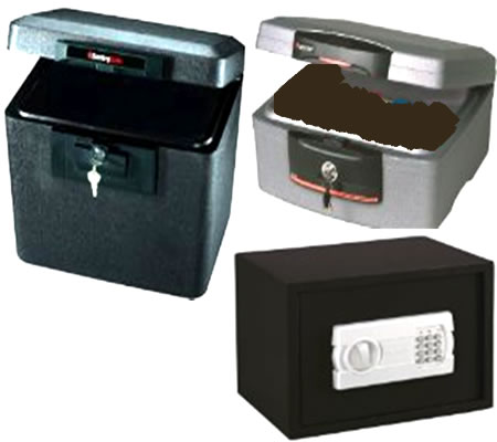 cajas fuertes, safety boxes