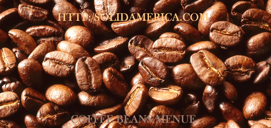 coffee bean and tea