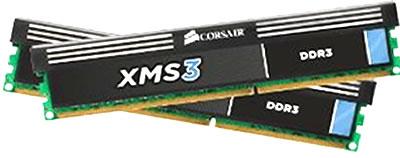 corsair xm S3 8GB 2 x 4GB pin ddr3 memory kit tablets