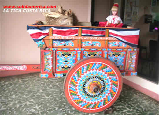 a doll in a cart costa rica