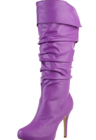 texas purple boots dreams