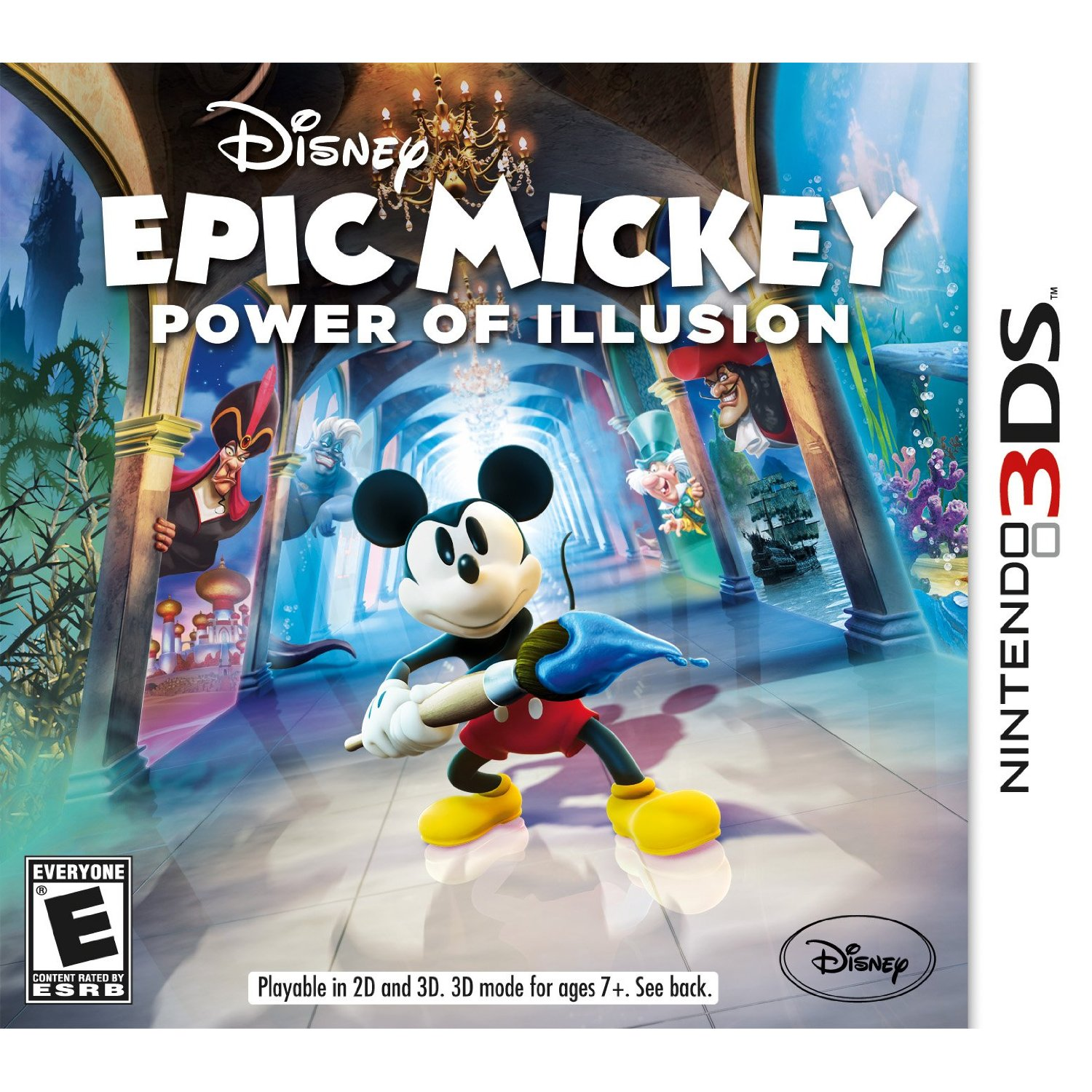 disney, epic mickey mouse power of illusion