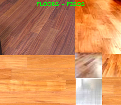 solid hard wood floors
