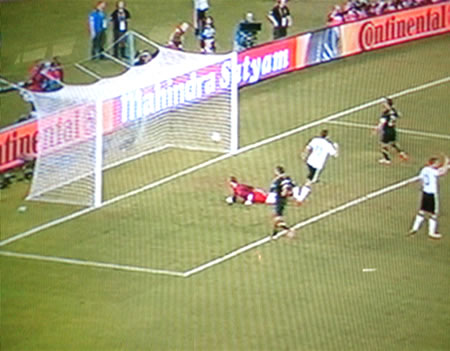 a goal of germany