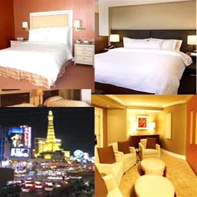 las vegas hotel room