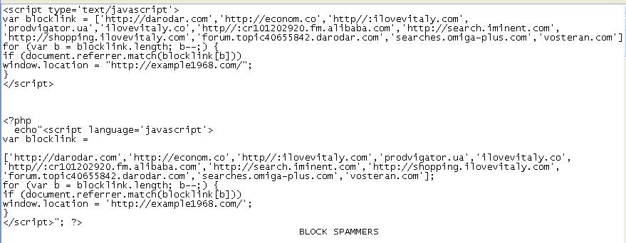 block spammer ilovevitaly co darodar