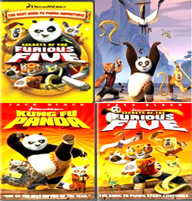 panda double dvd