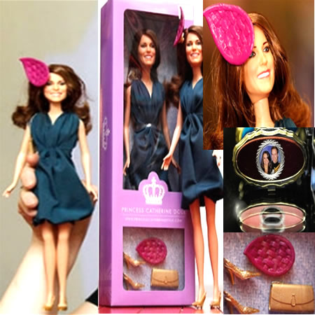 princess catherine engagement dolls