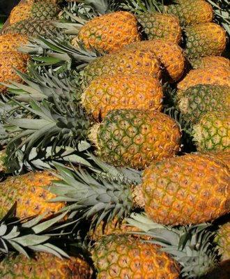 pineaples fruit