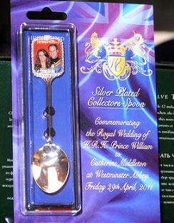 Royal Wedding Souvenir Spoons