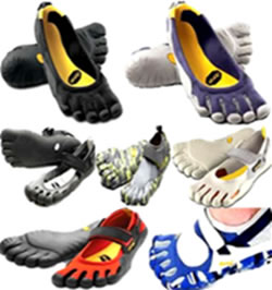 shoes with toes for kids men women