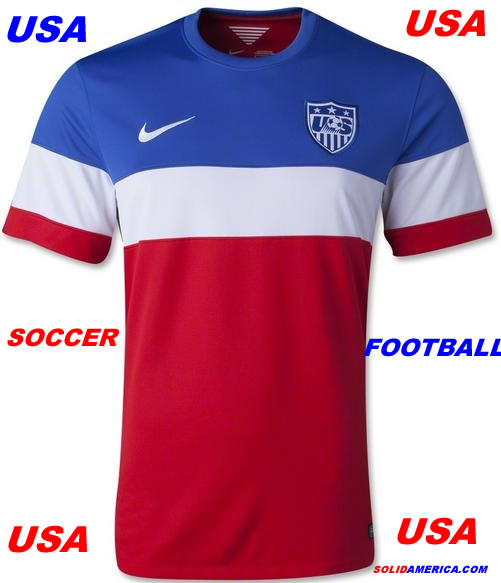 usa official soccer jersey