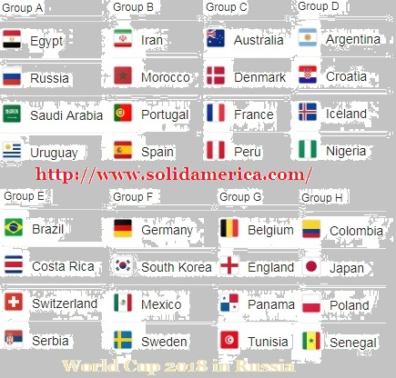 world cup 2018 team matches