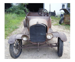1925 Model T Ford With Good Motor
