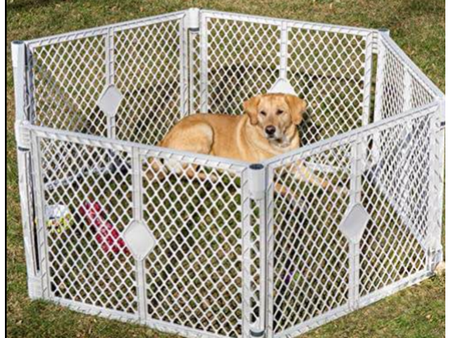 Used Play Pen Yard For Pet Puppies Brand PetYard in Excellent Condition