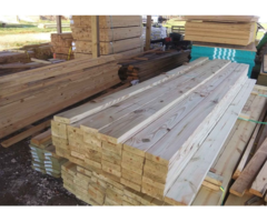 1 Inch Treated Lumbar Wood 1x6x16 Fence Boards