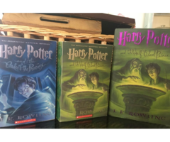 A Nice Collection Harry Potter Books And Movies