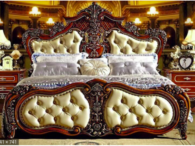 Modern European Solid Wood Bedroom Sets
