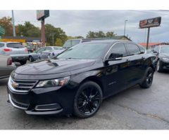 Car Model 2016 Chevrolet Impala LT Sedan 4D
