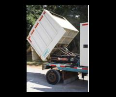 Heavy Equipment Hydraulic Scissor Lift w/ Dump Capacity