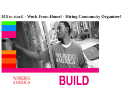 Need A Community Organizer Position Work From Your Home
