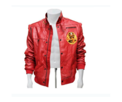 A Red Jacket Karate Kid Cobra Kai