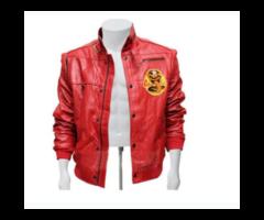 A Red Jacket Karate Kid Cobra Kai