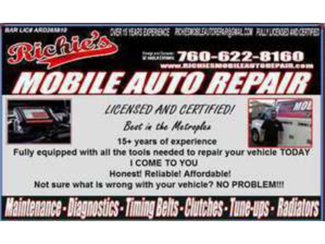 Auto Repair Affordable Done Right in Your Place
