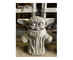 Star Wars Statues For Sale Baby Yoda Cement Statue Garden Figures Collectible Concrete