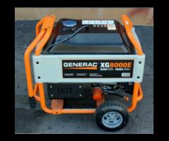 Electrical Generator Made By Generac XG 8000