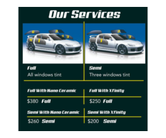 Mobile Windows Tint And High Detailing Service