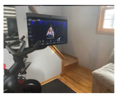 2020 New Peloton Bike And Swiveling Screen to Watch TV For Sale
