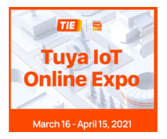 Grand Event EXPO TUYA Smart Products Including Lighting