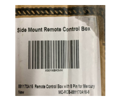 881170A15 Side Mount Remote Control Box with 8 Pin For Mercury