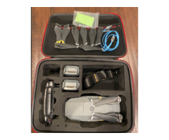 Video Camera DJI Mavic Pro With Extra Accessories Used