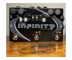 Musical Instrument Pigtronix Infinity Looper Woth Footswitch