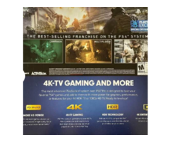 A PlayStation 4 Pro And Games Call Of Duty Bundle Modern Warfare