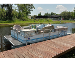 Selling A 22ft Pontoon Boat With 4 Stroke In Great Condition